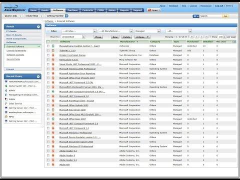 It Asset Management Software Solutions Provider Developer Designer Programmer Consultant Analyst