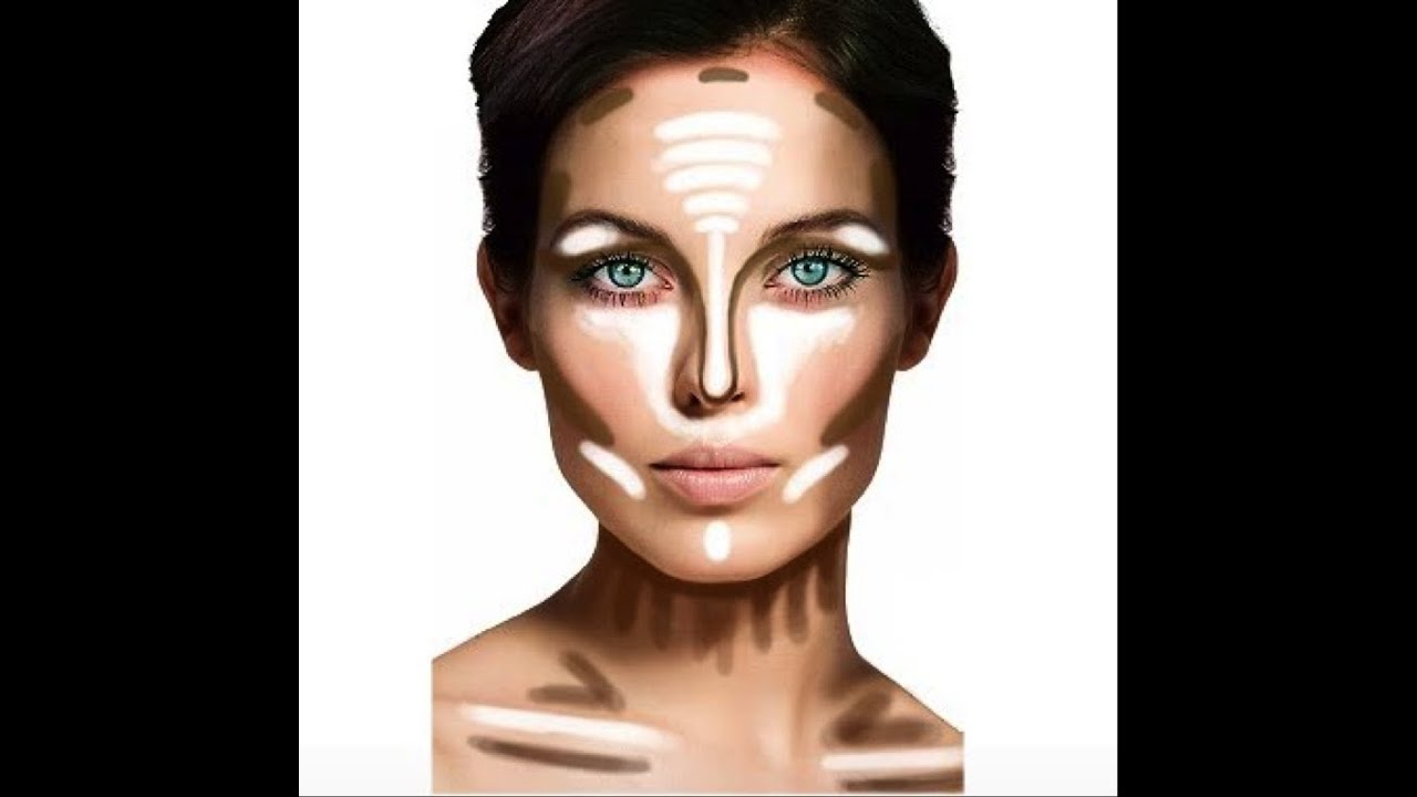 How to sculpt your face: Highlighting and Contouring 101 - YouTube