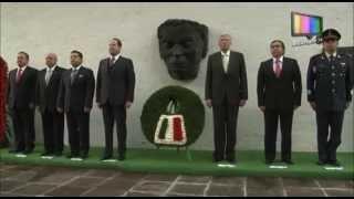 Conmemoran 249 aniversario del natalicio de José María Morelos y Pavón