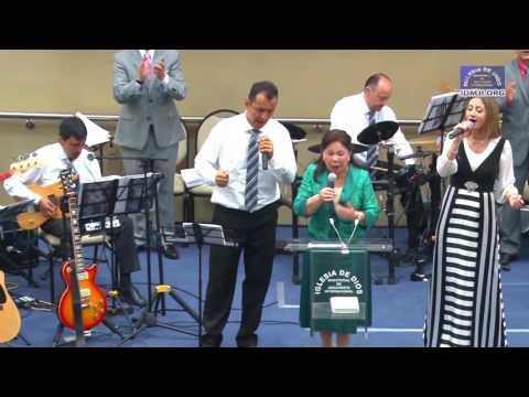María Luisa Piraquive,  Himno: El aposento alto
