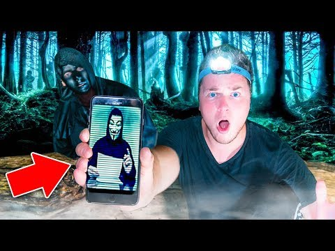 3AM CHALLENGE IN THE SCARY WOODS! 😱 Escaping Hacker & Spies