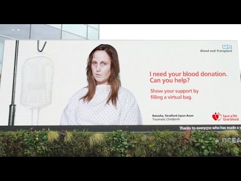 NHS Virtual Blood Donation