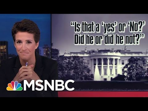 Mike Pence Spokesman Squirms On Russia Question | Rachel Maddow | MSNBC