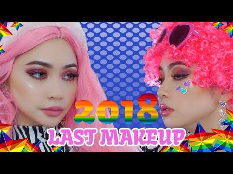 2018最後の動画?Pink funky makeup?HYM Shop?Tarte? thumbnail