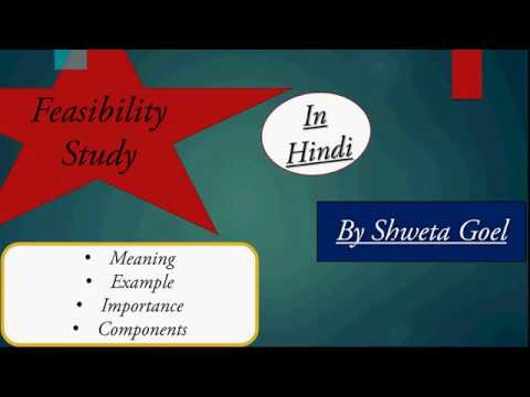 Feasibility Meaning Steps To Analysis Elements Importance With Example In Hindi Youtube