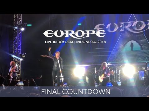 Europe - Final Countdown - Live in Boyolali, Indonesia 2018