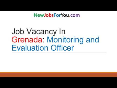 Job Vacancy in Grenada Monitoring and Evaluation Officer