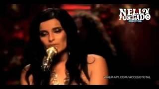 Nelly furtado - i'm like a bird acoustic live @ walmart soundcheck 2010
