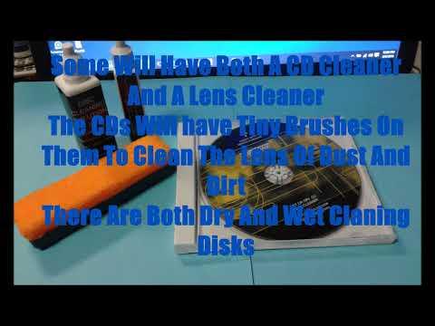 CD Lens Cleaning  Lens Cleaning Kit cd skips