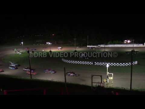 Hidden Valley Speedway Rain Delay Pure Stocks & 4 Cylinders Running in the Track 5-11-19