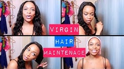 💖 How to Maintain Brazilian Body Wave Sew-In