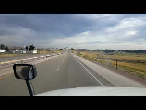 Bigrigtravels Live! Gillette,  Wyoming to Sundance Interstate 90 September 3, 2016