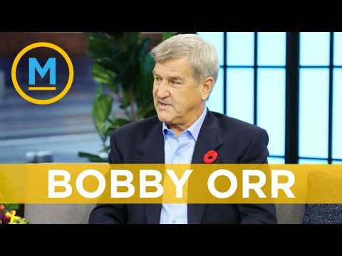 Bobby Orr shares never-before-seen images in his new book   Your Morning
