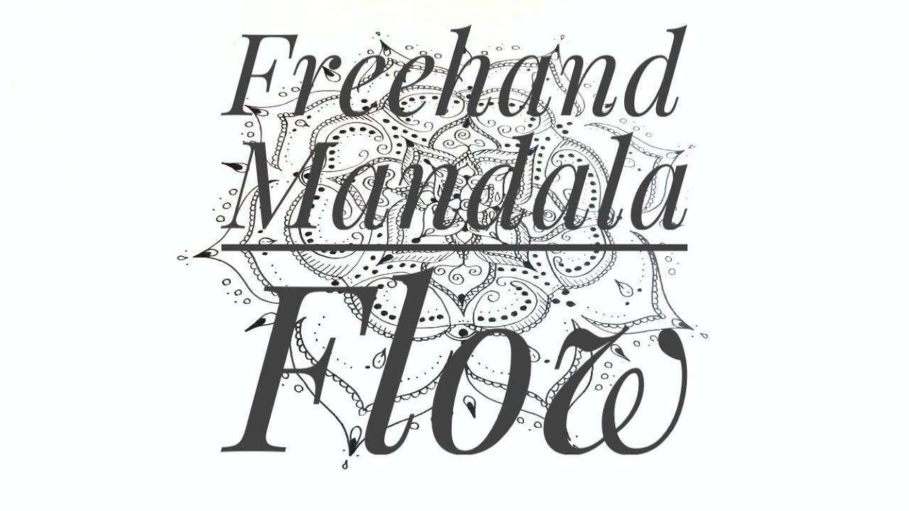 Freehand Mandala Flow - Creating a mandala layer by layer