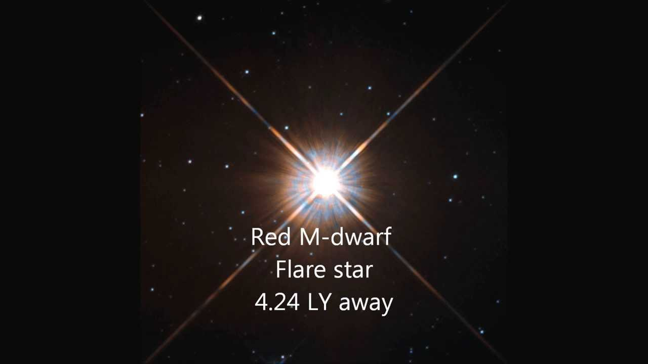 Proxima Centauri New hubble shots of our neighboring star ...
