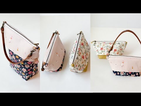 Pinocchio Bag | Extendable Zipper Pouch | Two way Sewing Bag