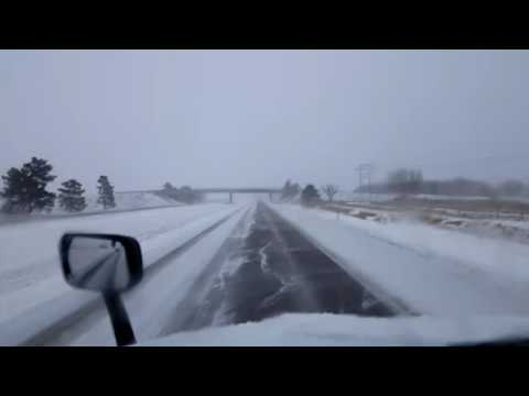 Bigrigtravels Live! Blizzard Run from Lexington to Wood River, Nebraska