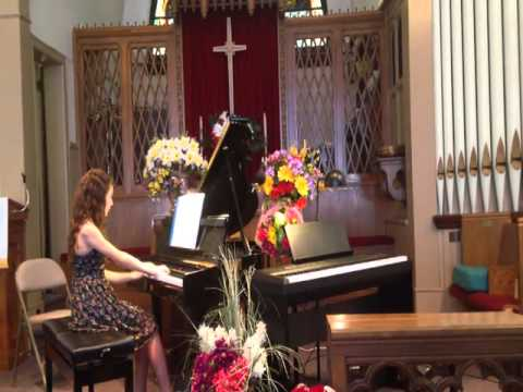 Grace's Piano Recital (My Father's Day Gift)