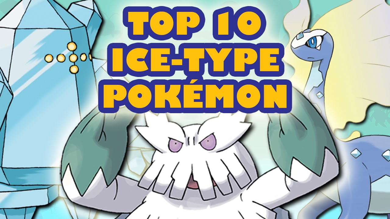 Top 10 ice type pokmon youtube sciox Choice Image