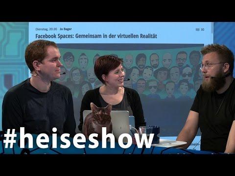 #heiseshow: Facebook – mit VR, AR und KI zum Volks-Internet?