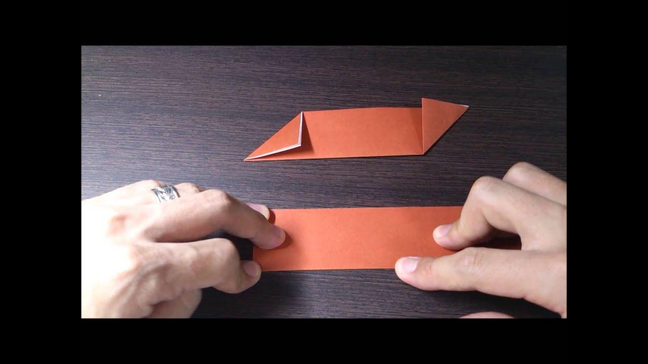 すべての折り紙 ハートの指輪 折り紙 : 折り紙の折り方 手裏剣(し ...