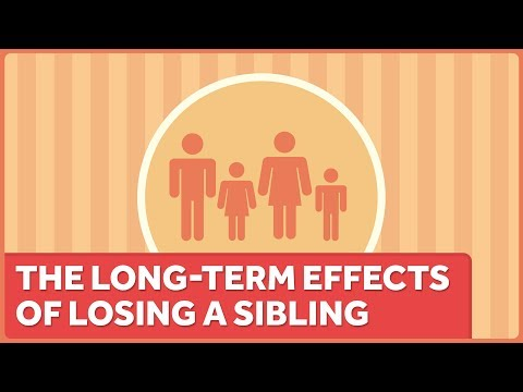 The Death Of A Sibling Takes Emotional And Physical Tolls