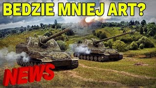 BĘDZIE MNIEJ ART? - NEWS WORLD OF TANKS