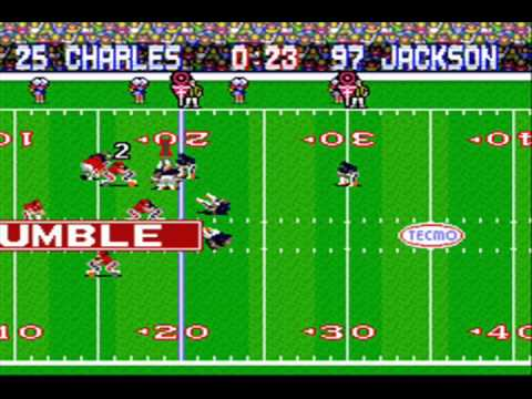 Jamaal Charles Fumbles to Bradley Roby For A Broncos Win, Tecmo Style