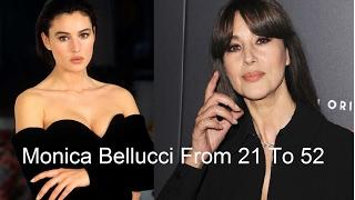 Моника Белуччи от 21 до 52 лет