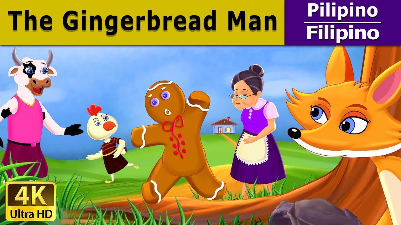 Si Gingerbread Man | Kwentong Pambata | Mga Kwentong Pambata | Filipino  Fairy Tales