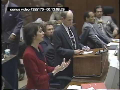 OJ Simpson Trial - September 27th, 1995 - Part 2