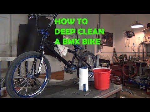 HOW TO DEEP CLEAN A BMX RACE BIKE