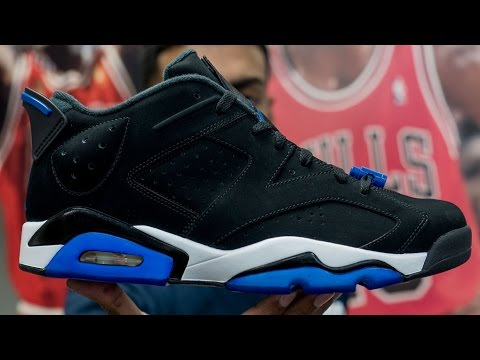 Restorations with Vick - Custom Sport Blue 6 or Space Jam 6?
