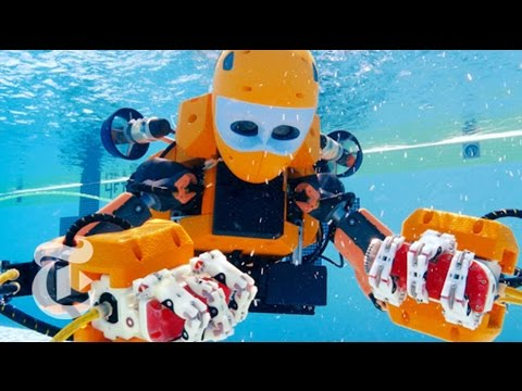 ScienceTake | Meet the Humanoid Mer-Bot | The New York Times