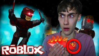 A SUPERHERO GEM PICKING UP! (Roblox Mad City)