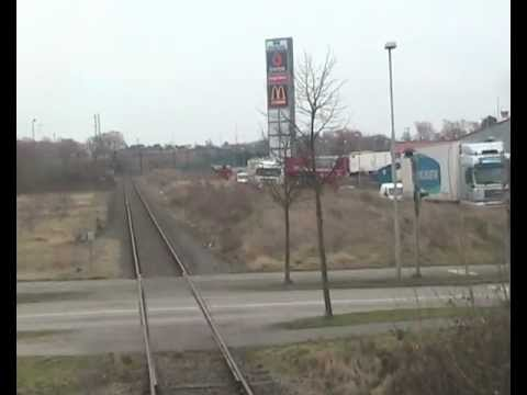 Koppers-Nyborg / Train drivers view