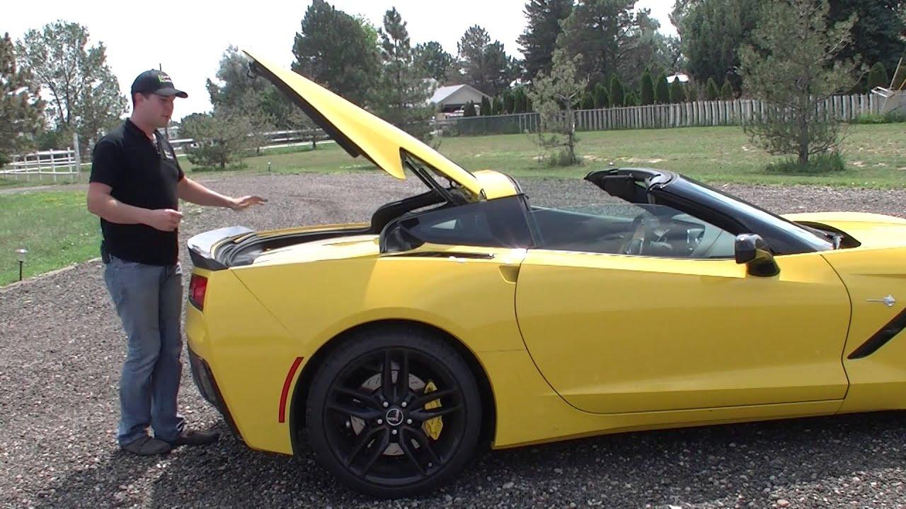 Real Quick Video 2014 Corvette C7 Stingray Targa Top Demo