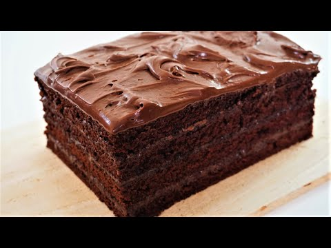 Moist And Fudgy Chocolate Cake | Easy Recipe With Savor Easy
