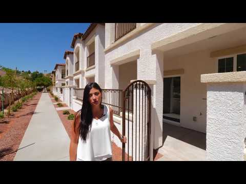 NEW! Townhomes for sale in Loretto Bay, Henderson, NV - 1525 Spiced Wine Ave