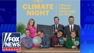 'The Five' calls out late-night hosts lecturing about climate change