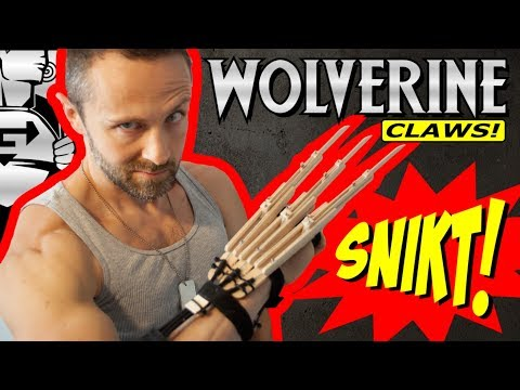 💥X-MEN WOLVERINE Claws💥 fully automatic DIY tutorial😲