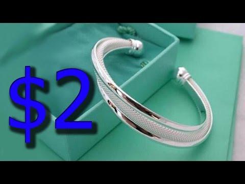 Женский браслет стерлинговое серебро 925 проба с AliExpress