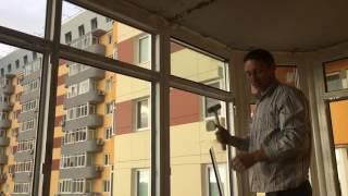 видео Теплый балкон - это дополнительная полезная площадь