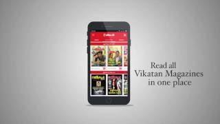 Vikatan News & Magazines App screenshot 1