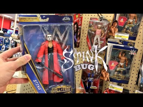 WWE TOY SHOPPING FREAKOUT! HALL OF FAME ACTION FIGURES AT TARGET!