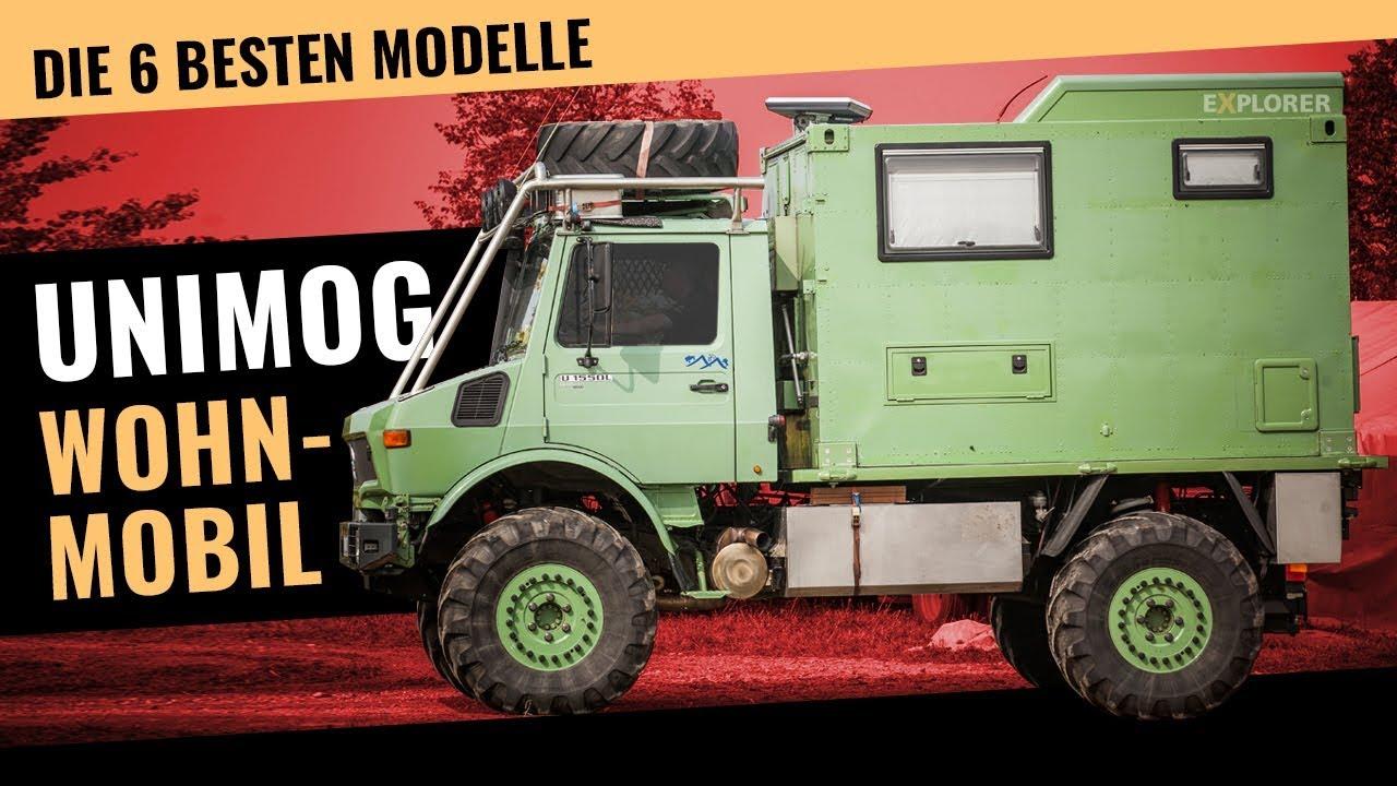 Faszination UNIMOG – Die 9 besten Modelle als Offroad Wohnmobil Basis