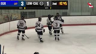 HD Hockey Highlights - Lowell-Caledonia vs EGR | 12/15/2018