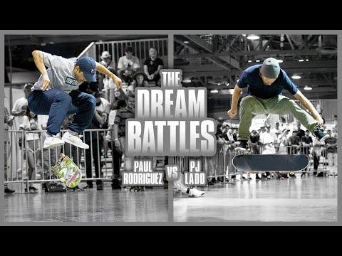 Paul Rodriguez Vs. PJ Ladd | The Unreleased Dream Battles
