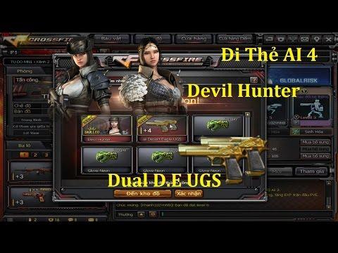 [ Bình Luận CF ] Đi Thẻ AI 4 Kiếm Đồ - Ra Luôn Devil Hunter ✓「Pino.NTK」 -  YouTube