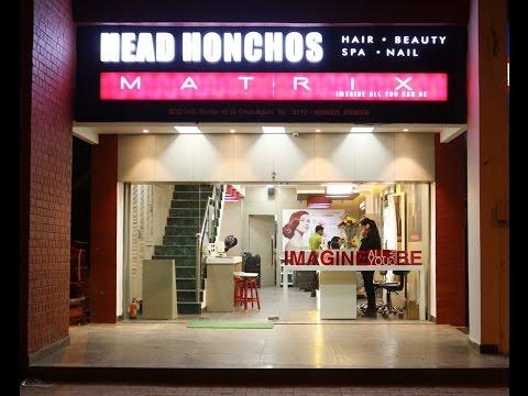 Beauty Salon Interior Design - Head Honchos - Chandigarh - India
